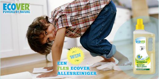 Win een plantaardige fles allesreiniger van Ecover!