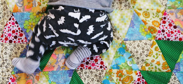DIY speelkleed van vintage stoffen – Gastblog van Allihoppa