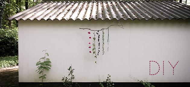 DIY Natuurlijke Raamdecoratie