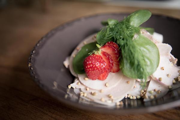 I love eco blog, Restaurant Avalon, Zomerslaatje, Recept, plantaardig