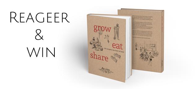 Win het nieuwe veggie kookboek van Avalon: Grow Eat Share!