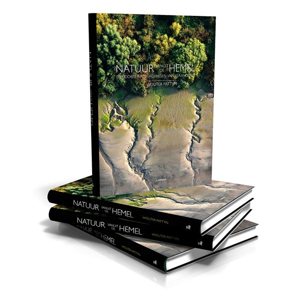 I love eco blog, Natuur vanuit de hemel, boek, Wouter Pattyn, Natuurfotografie
