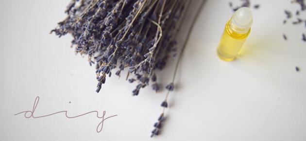 I ♥ Eco & Druantia: zoete dromenroller met lavendel
