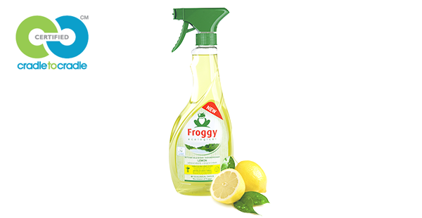 I love eco blog, Froggy, Cradle to cradle certificaat, lemon badkamerreiniger, duurzaam,