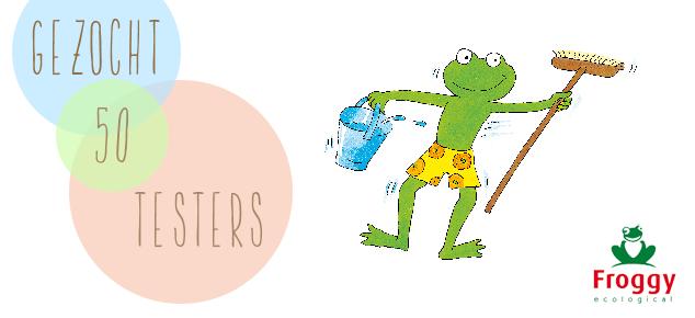 Froggy is op zoek naar 50+50 enthousiaste testers!