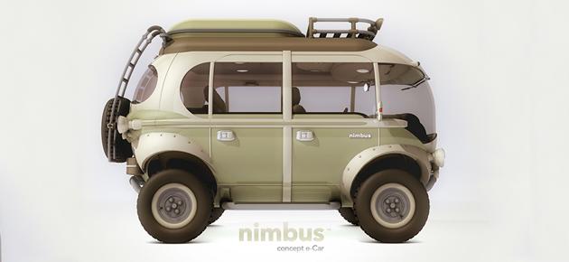 Op reis met Nimbus, de elektrische minibus