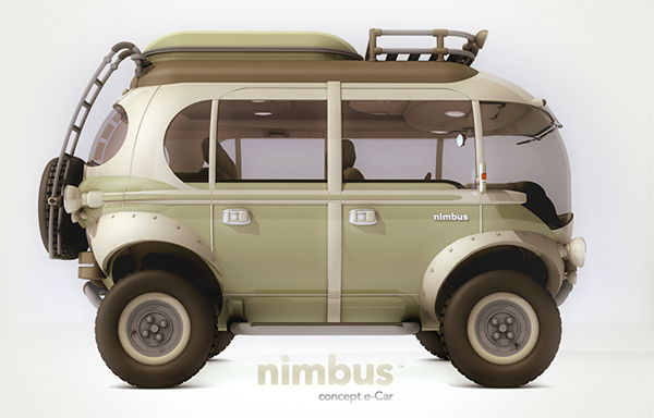 I love eco blog, electric minibus, NImbus