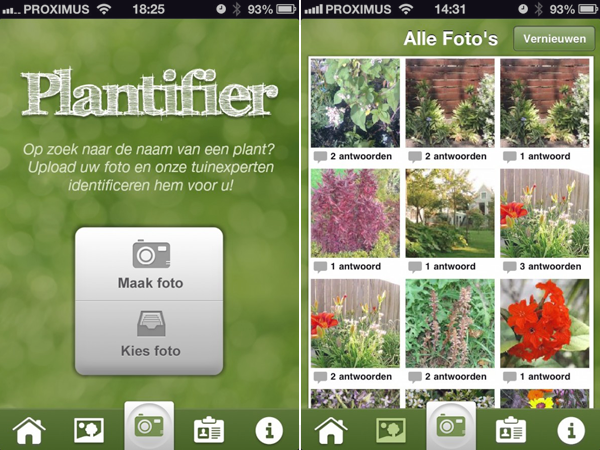 I love eco blog, Frankwatching, plantifier, tuin, planten herkennen, tuin app, planten app