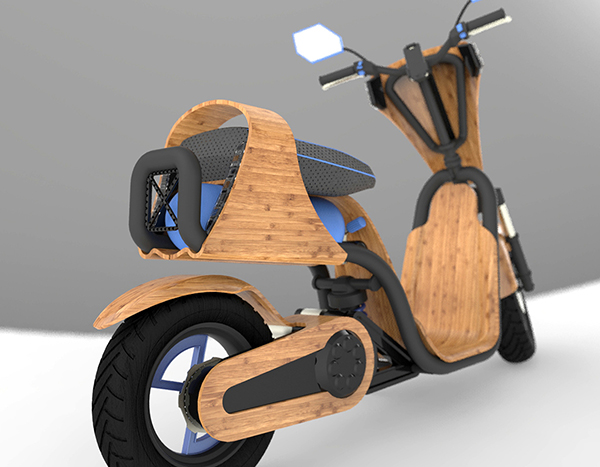 I love eco blog, The ecomoto, bamboo, moto
