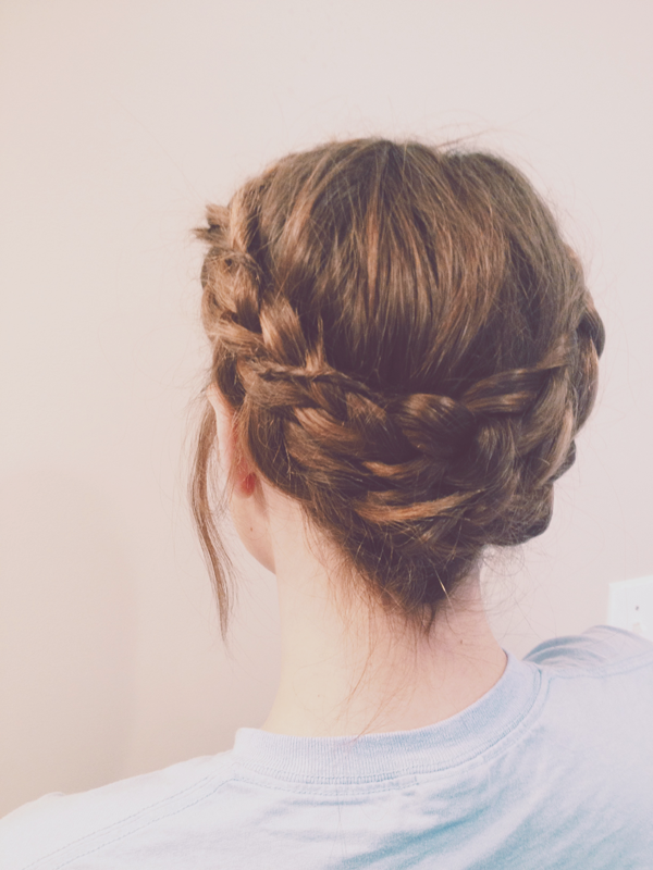 braid crown, hair, I love eco blog, vlecht, feestelijk kapsel,