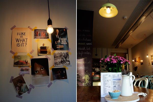 I love eco blog, Crumbles and beans, koffie- en lunchbar, Antwerpen Noord, Sint-Jansplein