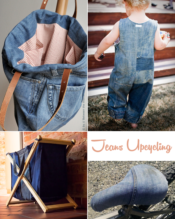 I love eco blog, jeans, upcycling, recycled denim