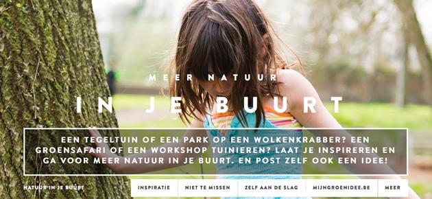 Inspiratie voor meer natuur in je buurt!