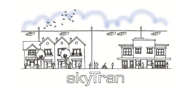 Vervoer van de toekomst : Zwevende monorail