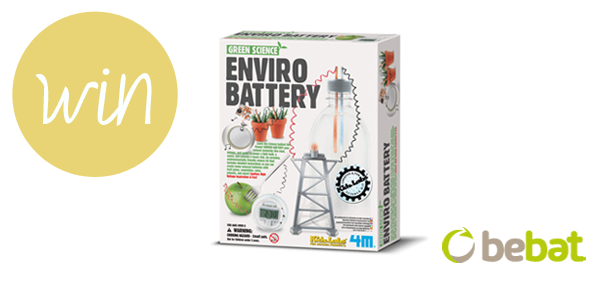 I love eco blog, win, enviro battery, bebat, green science