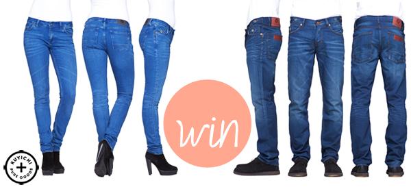 Win een jeans uit biologisch katoen van Kuyichi!