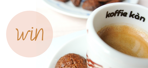 I love eco blog, Koffie Kàn, Slow coffee, win