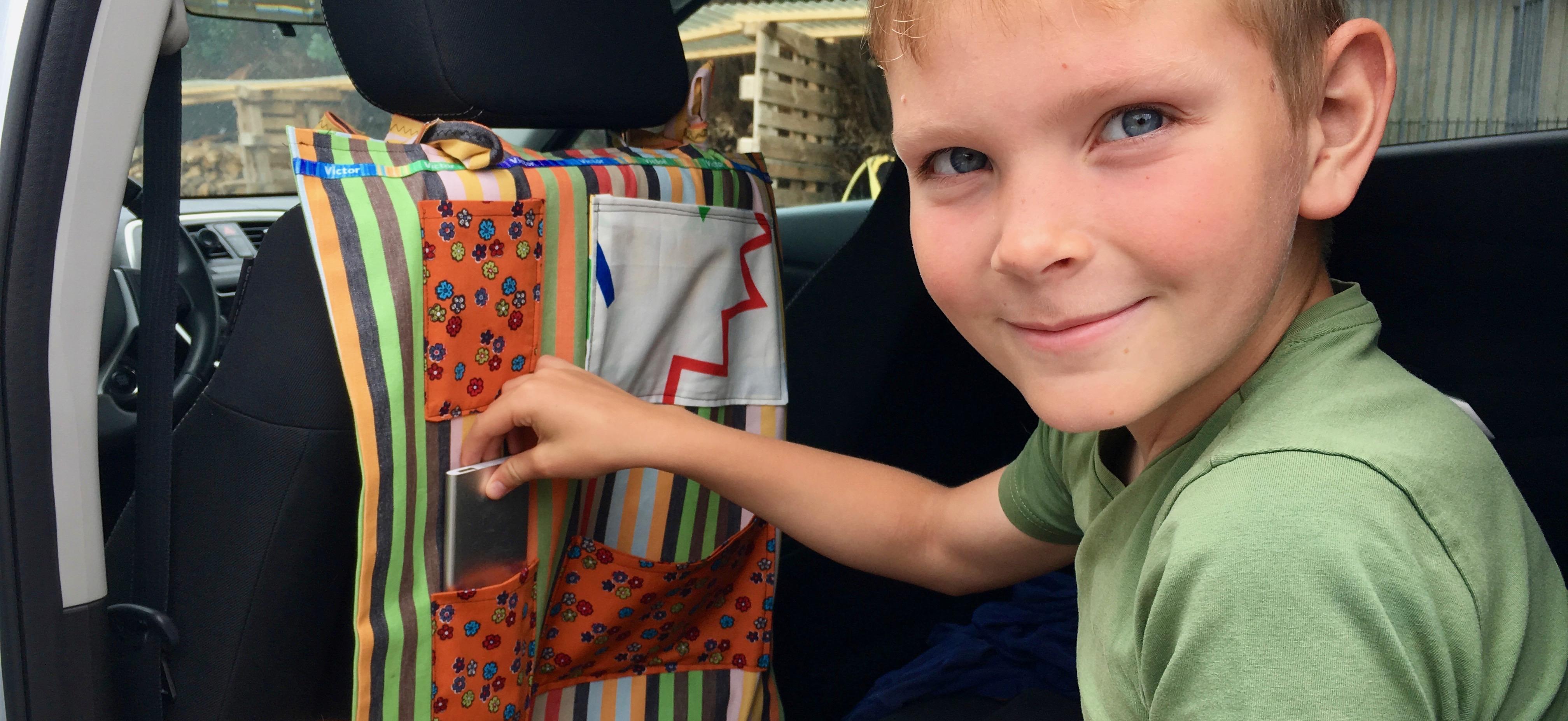 DIY: een organiser met restjes stof