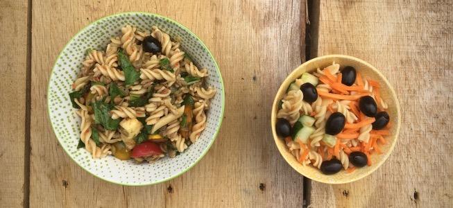 Recept: bijna zomerpasta met van alles erin