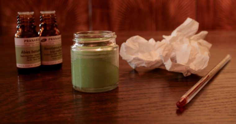 I ♥ ECO & DRUANTIA: Natuurlijke verkoudheidsbalsem