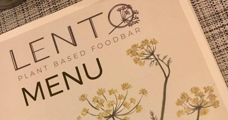 Uittip in Hasselt: vegan eten bij Lento