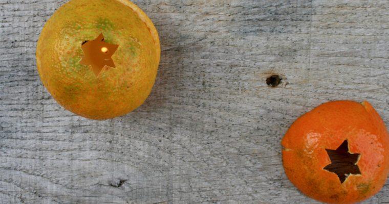 I ♥ ECO & DRUANTIA: mandarijnkaarsen
