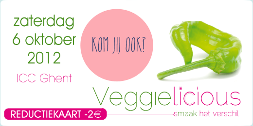 Vind I ♥ Eco op Veggielicious…