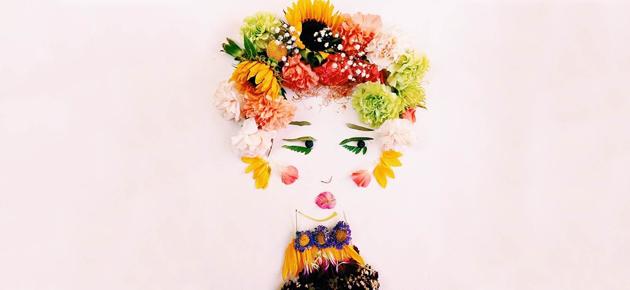 Flower portraits van Justina Blakeney op Steller