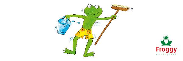 Froggy, I love eco blog, gerecycleerde PET, RPET,