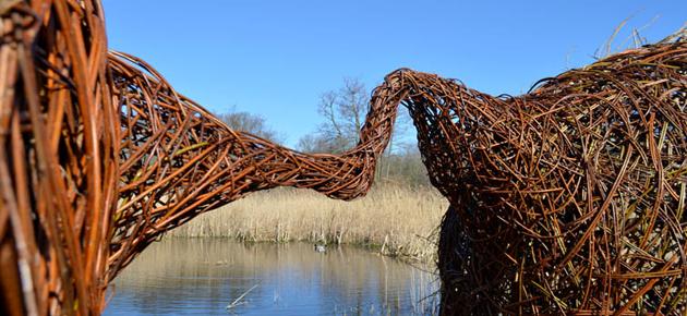 Kunst in de natuur, van Karin van der Molen