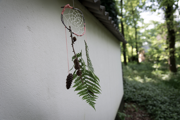 I love eco blog, natuur, knutelen, nature craft, dreamcatcher, dromenvanger, zelf maken