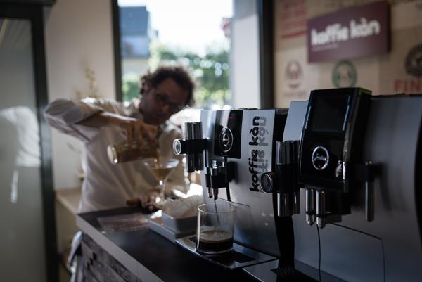 I love eco blog, Koffie Kàn, opening, Slow coffee