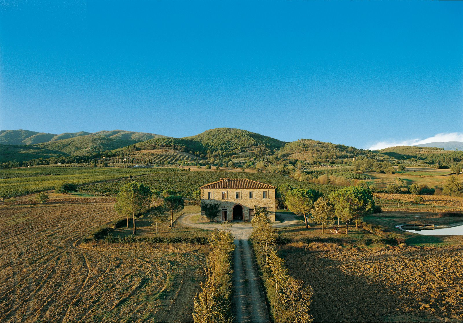 Fattoria La Vialla, biologisch familielandgoed in Italië
