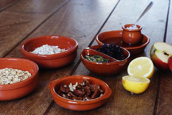 Recept voor granola zonder suiker