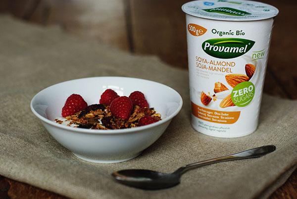 Granola recept zonder suiker met Provamel