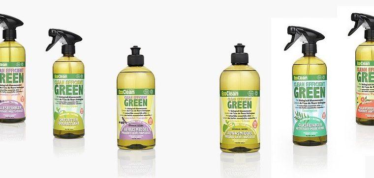 Win een pakket EcoClean-schoonmaakmiddelen