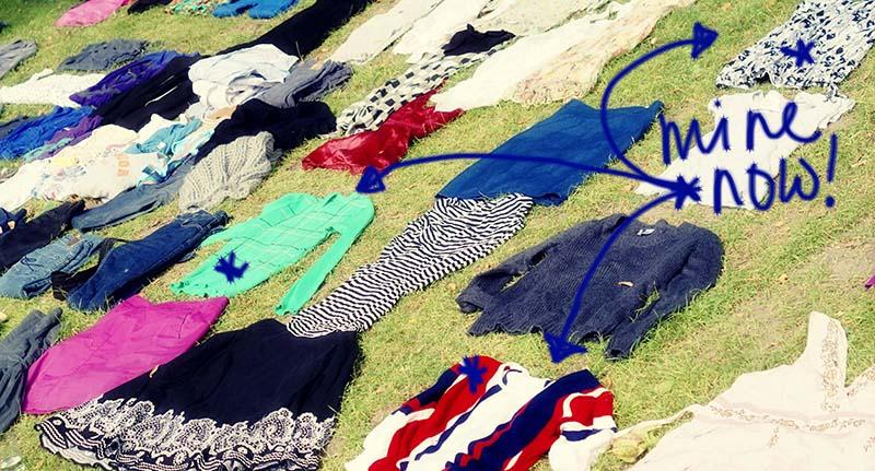 Zelf een kledingruil organiseren