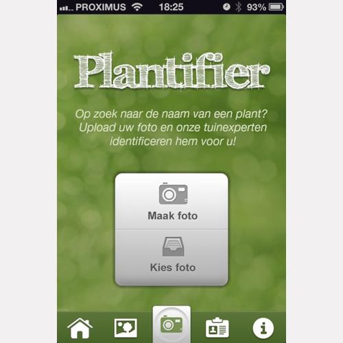 Vraag groene hulp via je Plantifier App