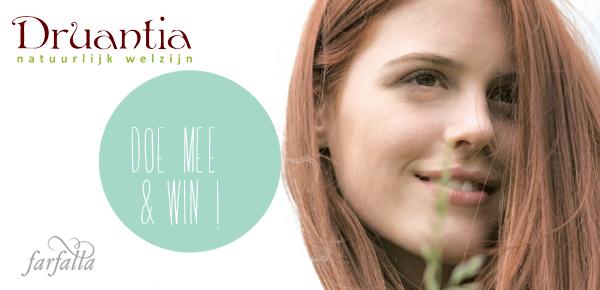 I love eco blog, Win, Druantia, Natuurlijk welzijn, Farfalle, natuurlijke cosmetica