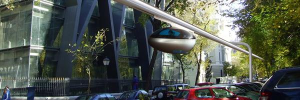 I love eco blog, skyTran, vervoer van de toekomst
