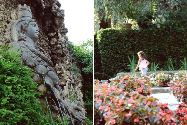 I love eco blog, Italië, Villa d'este, Unesco erfgoed, tuin, watervallen