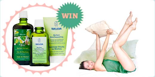 Rein in 3 stappen, win een zuiveringspakket van Weleda!