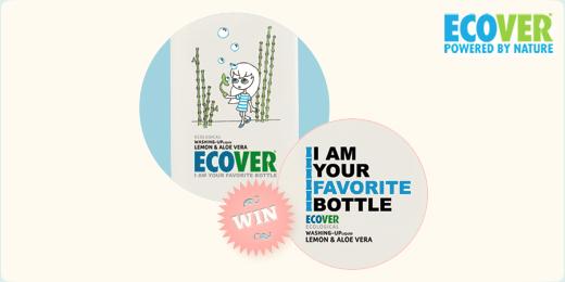 Win een plantastische fles Ecover afwasmiddel!
