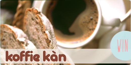 Win (weer) een proefpakket van Koffie Kàn!