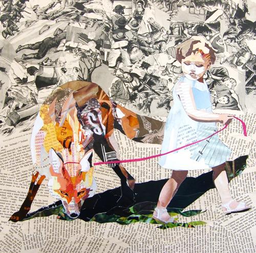 Geïnspireerd door de papiercollages van Patrick Bremer