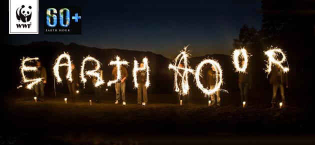 Feesten tijdens Earth Hour