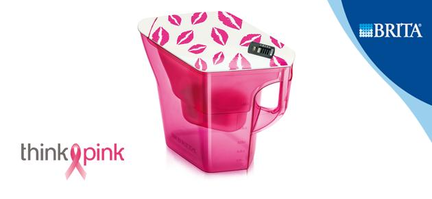 Brita, gezonde partner van Think-Pink