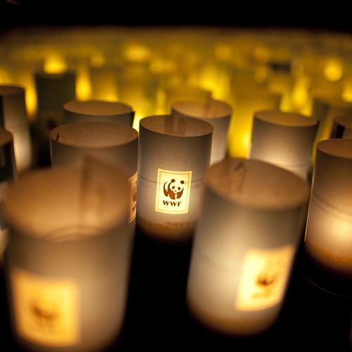 Vandaag is het Earth Hour!