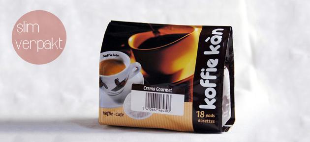 Koffie Kàn, slim verpakt!