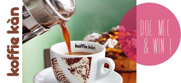 Win een proefpakket van Koffie Kàn!